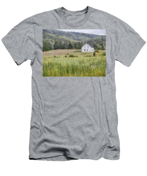 Idyllic Isolation Men's T-Shirt (Slim Fit) by Jeff Kolker