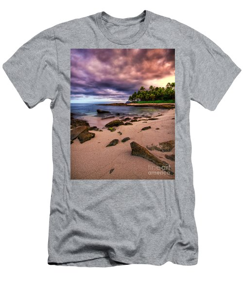 Iluminated Beach Men's T-Shirt (Athletic Fit)