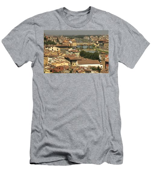 In Love With Firenze - 1 Men's T-Shirt (Athletic Fit)