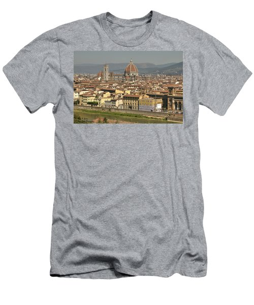 In Love With Firenze - 2 Men's T-Shirt (Athletic Fit)