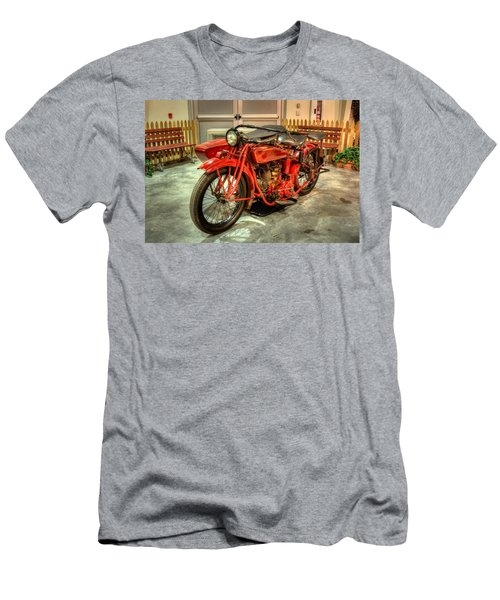 Indian Motorcycle With Sidecar Men's T-Shirt (Athletic Fit)