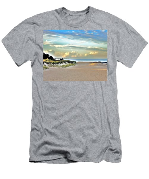 Indian River Inlet - Delaware State Parks Men's T-Shirt (Athletic Fit)