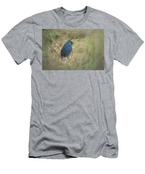 Indigo Blue Men's T-Shirt (Athletic Fit)