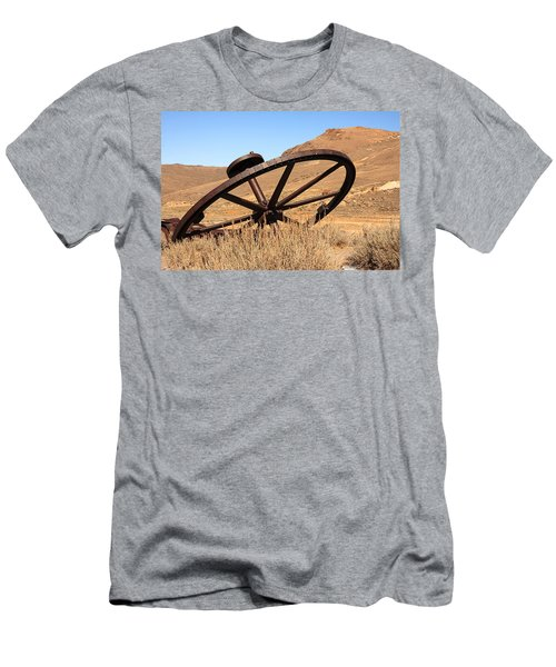 Industrial Wheel Men's T-Shirt (Athletic Fit)