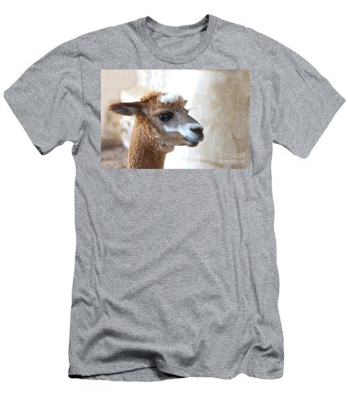 Men's T-Shirt (Athletic Fit) featuring the photograph Innocence by Byron Varvarigos