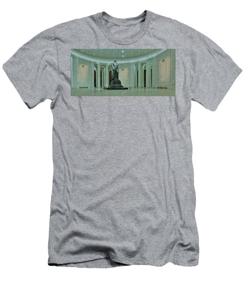 Inside The Jefferson Memorial Men's T-Shirt (Athletic Fit)