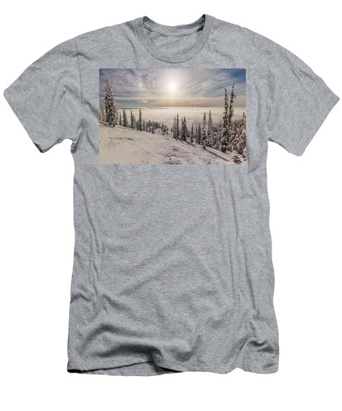 Inversion Sunset Men's T-Shirt (Athletic Fit)