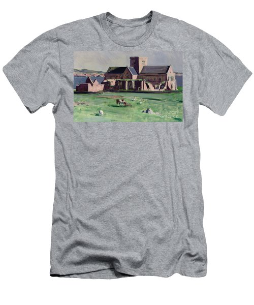 Iona Abbey From The Northwest Men's T-Shirt (Athletic Fit)