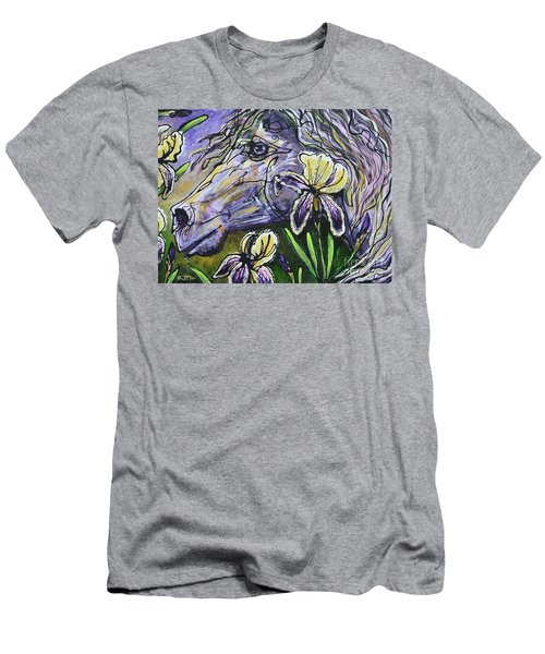 Iris Upon A Star Men's T-Shirt (Athletic Fit)