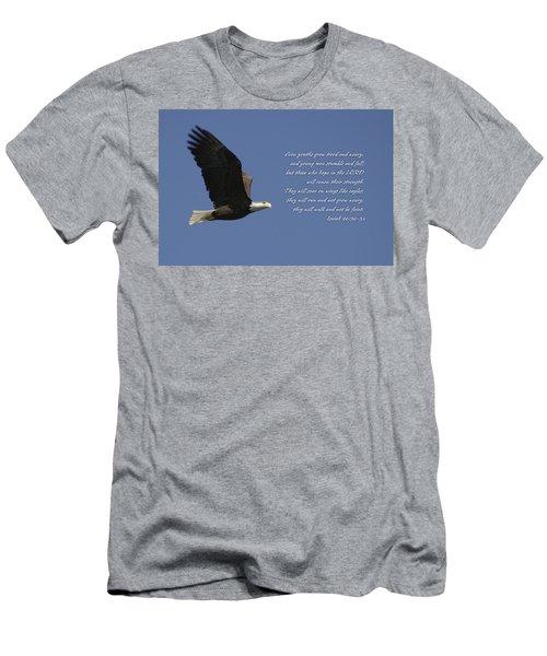Isaiah 40 Men's T-Shirt (Athletic Fit)