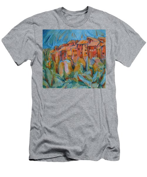 Isola Di Piante Small Italy Men's T-Shirt (Athletic Fit)