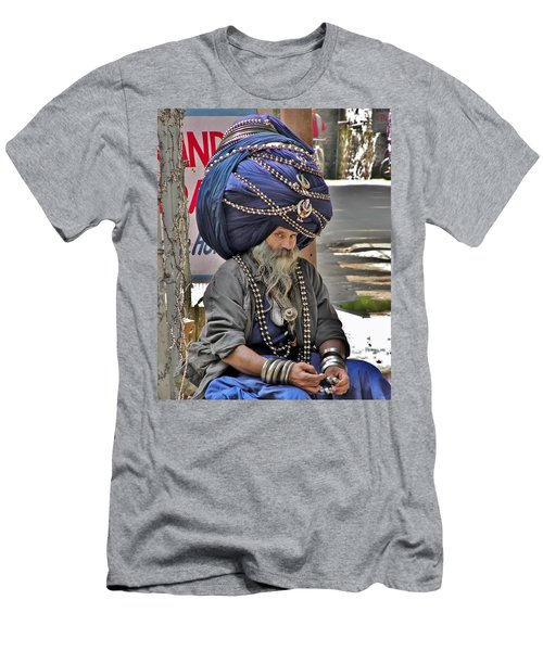 Its All In The Head - Rishikesh India Men's T-Shirt (Athletic Fit)