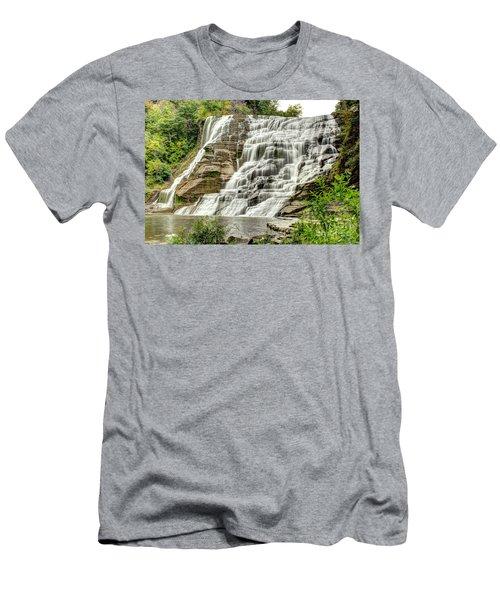 Ithaca Falls Men's T-Shirt (Athletic Fit)