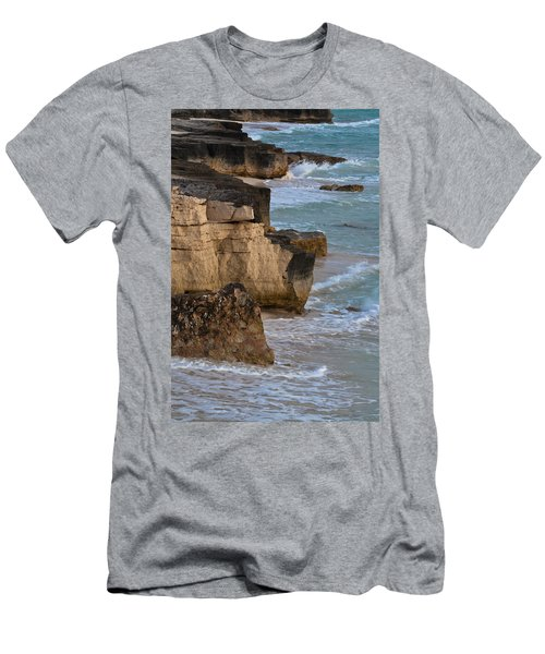 Jagged Shore Men's T-Shirt (Athletic Fit)