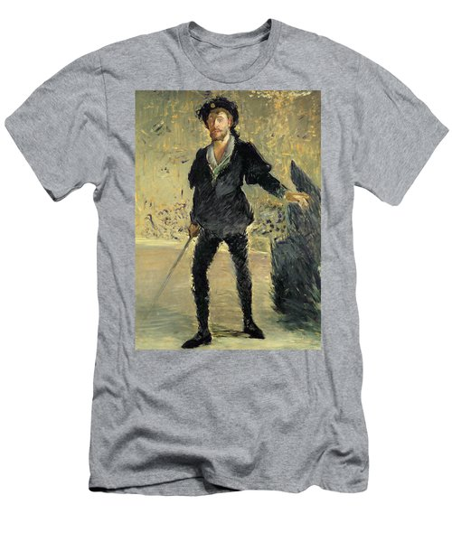 Jean Baptiste Faure In The Opera Hamlet By Ambroise Thomas Men's T-Shirt (Athletic Fit)