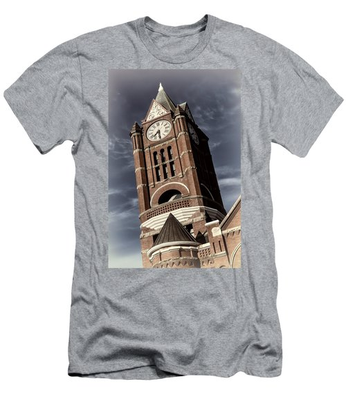 Jefferson County Courthouse Clock Tower Men's T-Shirt (Athletic Fit)
