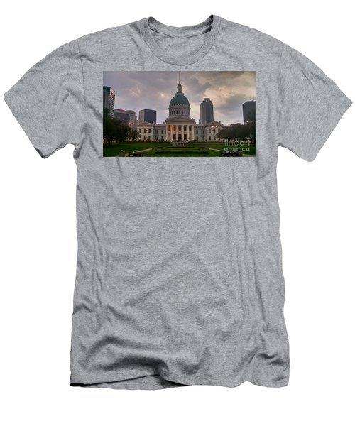 Jefferson Memorial Bldg Men's T-Shirt (Athletic Fit)