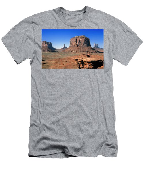 John Ford Point Monument Valley Men's T-Shirt (Athletic Fit)