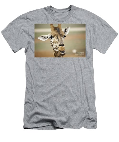 Jolly Giraffe Men's T-Shirt (Athletic Fit)