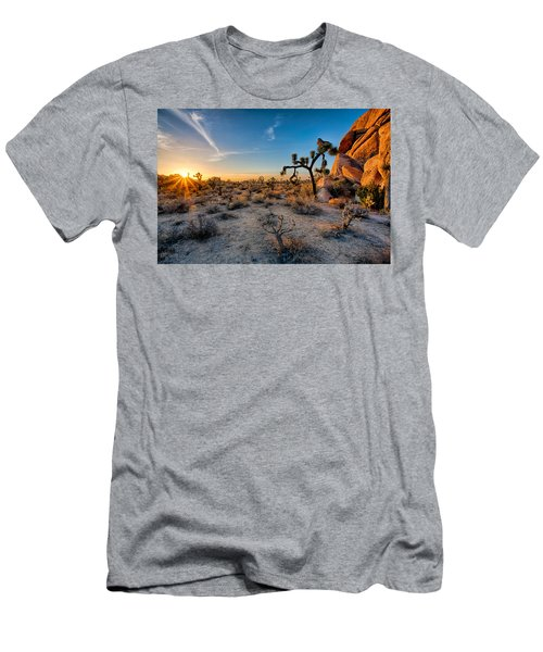 Joshua's Sunset Men's T-Shirt (Athletic Fit)