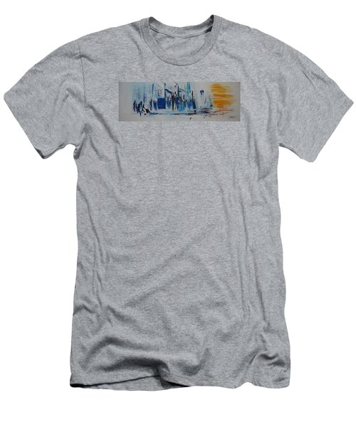 Just Another Day In New York City Men's T-Shirt (Slim Fit)