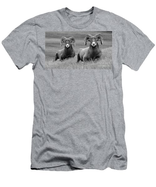 Just Hanging Out Men's T-Shirt (Slim Fit) by Vivian Christopher