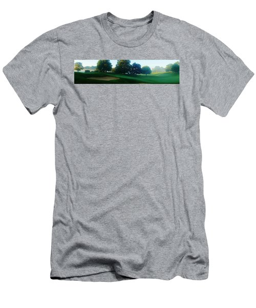 Just Off The Green Men's T-Shirt (Slim Fit) by Daniel Thompson