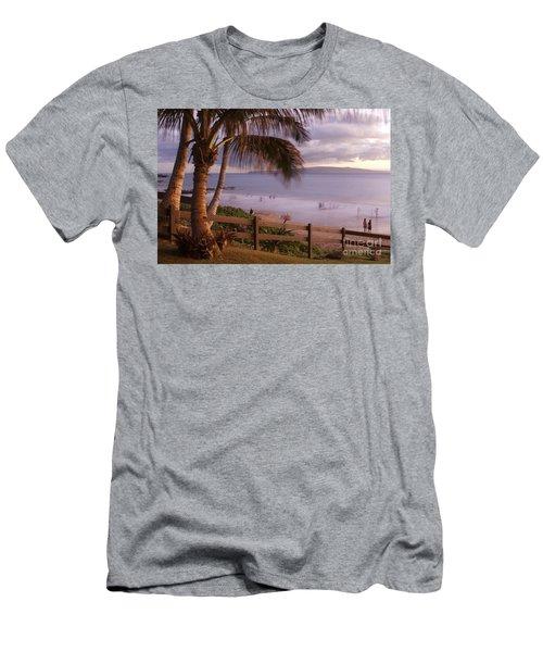 Kai Makani Hoohinuhinu O Kamaole - Kihei Maui Hawaii Men's T-Shirt (Athletic Fit)