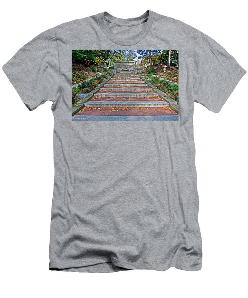 Kalorama Spanish Steps Men's T-Shirt (Athletic Fit)