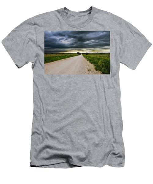 Kansas Storm In June Men's T-Shirt (Athletic Fit)