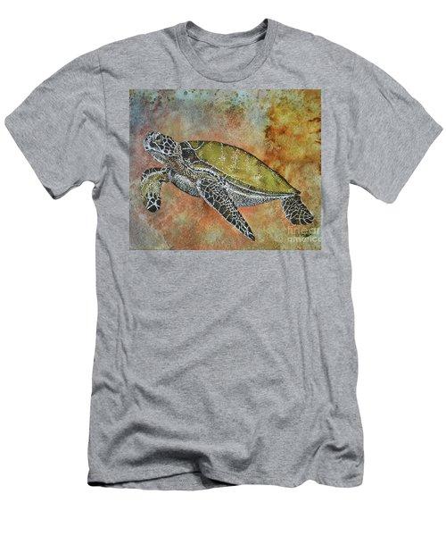 Kauila Guardian Of Children Men's T-Shirt (Slim Fit) by Suzette Kallen