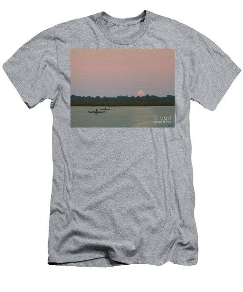 Kayaking At Kiawah Men's T-Shirt (Athletic Fit)