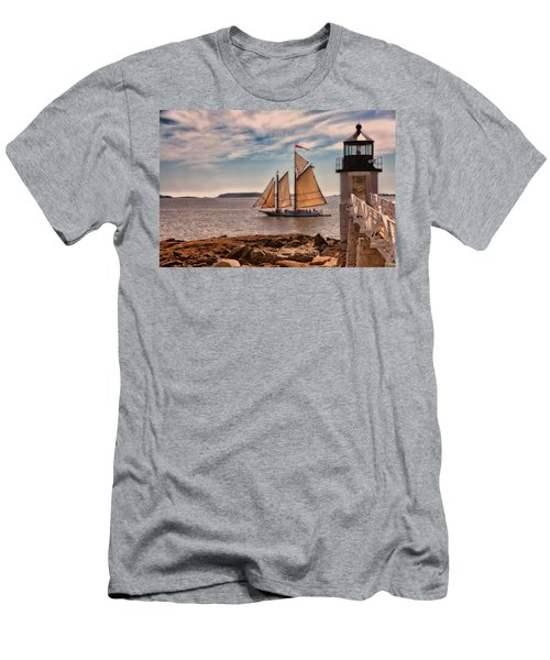 Keeping Vessels Safe Men's T-Shirt (Athletic Fit)
