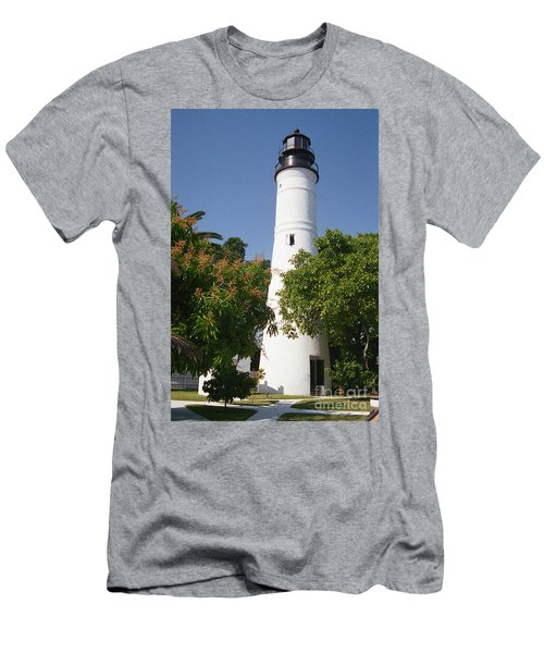 Key West Lighthouse Men's T-Shirt (Athletic Fit)