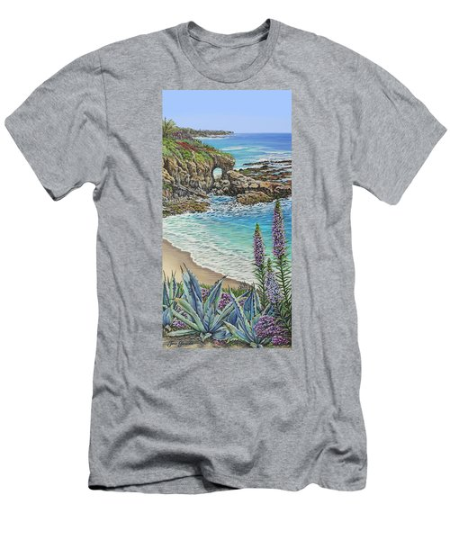 Keyhole Rock Laguna Men's T-Shirt (Athletic Fit)