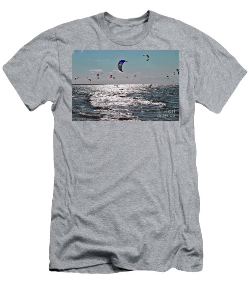 Kitesurfing Men's T-Shirt (Athletic Fit)