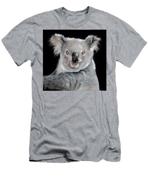 Koala Men's T-Shirt (Slim Fit) by Jean Cormier