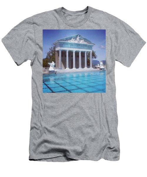 La Dolce Vita At Hearst Castle - San Simeon Ca Men's T-Shirt (Athletic Fit)
