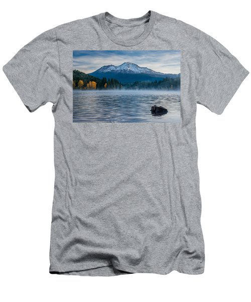 Lake Siskiyou Morning Men's T-Shirt (Athletic Fit)