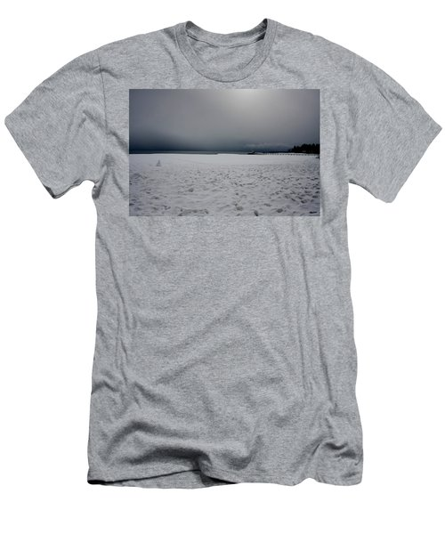 Lake Tahoe Winter Men's T-Shirt (Athletic Fit)