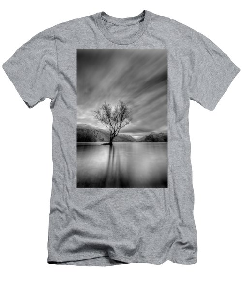 Lake Tree Mon Men's T-Shirt (Athletic Fit)