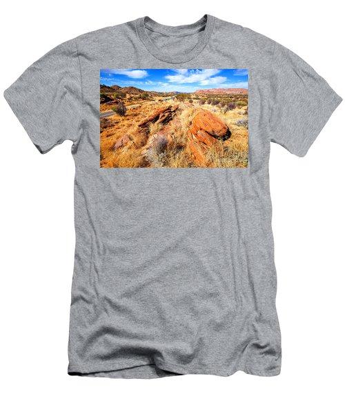 Larapinta Drive West Mcdonnell Ranges Men's T-Shirt (Athletic Fit)