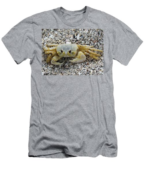 Men's T-Shirt (Slim Fit) featuring the photograph Ghost Crab by Cynthia Guinn