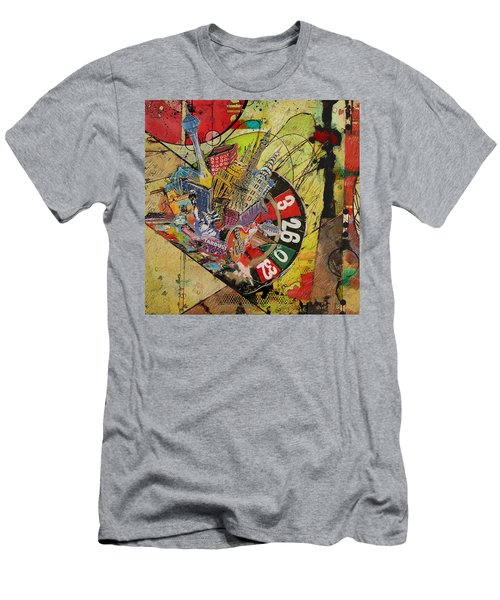 Las Vegas Collage Men's T-Shirt (Athletic Fit)