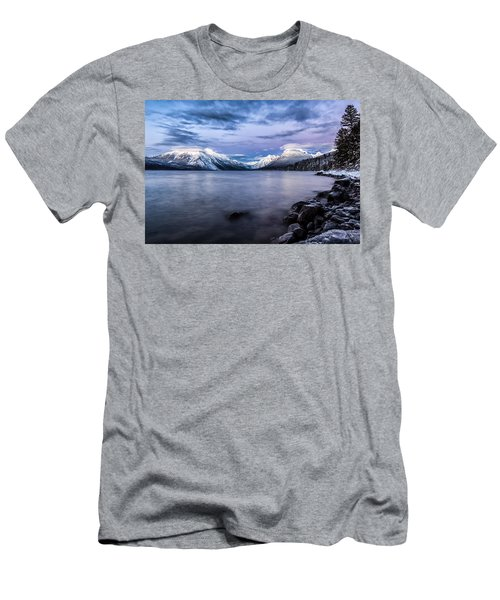 Last Light Men's T-Shirt (Slim Fit) by Aaron Aldrich