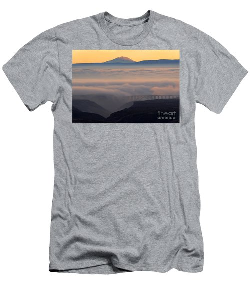 Last Light Over Mt. Adams Men's T-Shirt (Athletic Fit)