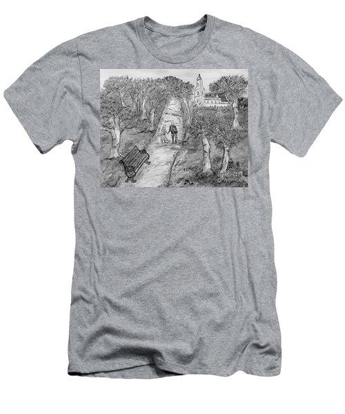 L'autunno Della Vita Men's T-Shirt (Athletic Fit)