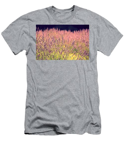 Men's T-Shirt (Slim Fit) featuring the photograph Lavender Dreams by Lynn Sprowl