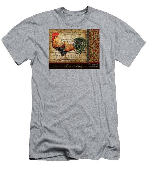 Le Coq-c Men's T-Shirt (Slim Fit) by Jean Plout