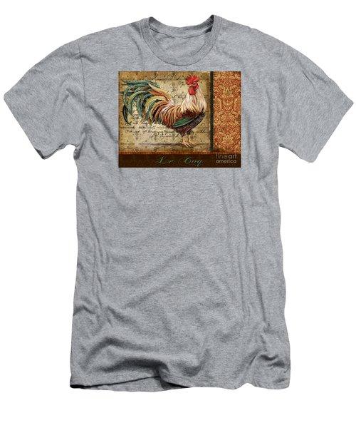 Le Coq-g Men's T-Shirt (Slim Fit) by Jean Plout